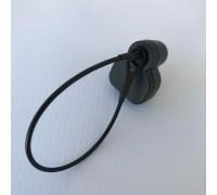 Противокражный радиочастотный датчик Mini Delta с тросиком. (Артикул: BR622B)